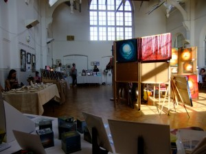 View from my table at the Southbank Arts Trail 2014